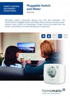 Datasheet van Homematic IP Stekkerschakelaar 3680 Watt - met energiemeter