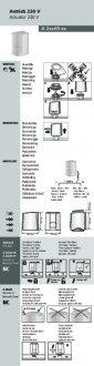 Handleiding van Homematic IP Thermische motor 230V