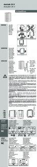 Handleiding van Homematic IP Thermische motor 24V