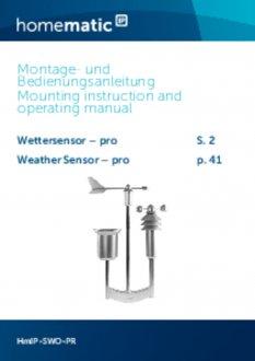 Handleiding van Homematic IP Weerstation pro