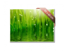 Heat4All glazen infraroodverwarming 540 Watt. 80 x 60cm