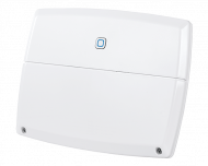 De Alpha IP multi IO box stuurt een CV-ketel of andere warmtebron aan als er verwarmd moet worden in een van de kamers in huis.