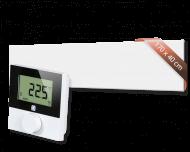 Set met Heat4All ICONIC Classic 820 infraroodpaneel en draadloze Alpha IP thermostaat