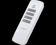 De Homematic IP afstandsbediening heeft 8 knoppen voor dimmen of schakelen van verlichting en andere apparaten