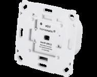De Homematic IP draadloze drukknop is zeer geschikt als draadloze wisselschakelaar, kruisschakelaar of hotelschakelaar, zonder extra kabels te moeten trekken.