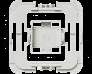 Met deze Busch Jaeger wipvlak adapter kunnen Busch Jaeger wipvlakken en afdekramen uit de serie Duro 2000 SI en SI Linear, Reflex SI en SI Linear, Carat, Future Linear, Solo, Axcent, Dynasty, Alpha en Balance SI toegepast worden op Homematic IP schakelaars en dimmers.
