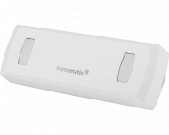De Homematic IP doorgangsmelder detecteert mensen, richting van beweging en telt het aantal personen in de ruimte.