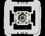 Met deze Gira wipvlak adapter kunnen Gira wipvlakken en afdekramen uit de serie System 55, Standard 55, E2, Event en Esprit toegepast worden op Homematic IP schakelaars en dimmers.