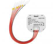 De zesvoudige Homematic IP input module maakt standaard schakelaars of drukknoppen slim.
