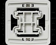 Met deze Jung 1 wipvlak adapter kunnen Jung wipvlakken en afdekramen uit de serie LS 990, LS Design, LS Plus, CD 500, CD Universal en CD Plus toegepast worden op Homematic IP schakelaars en dimmers.