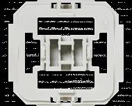Met deze Merten wipvlak adapter kunnen Merten wipvlakken en afdekramen uit de serie System M, Atelier M, 1 M, M Plan, M Smart, M Arc, M Star, Atelier Basis en M1 Basis toegepast worden op Homematic IP schakelaars en dimmers.