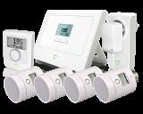 innogy SmartHome - Het slimme thermostaat pakket bestaat uit meerdere producten...